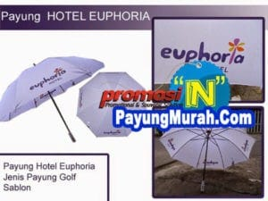Supplier Payung Promosi Murah Grosir Buton