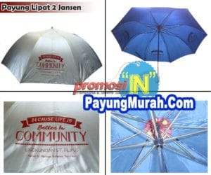 Grosir Payung Lipat Promosi Murah Banjarmasin