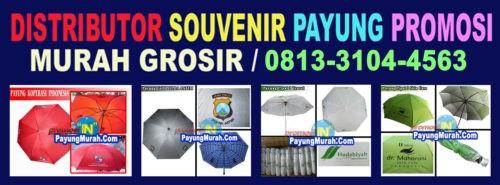 Grosir Payung Souvenir Promosi Murah 0813-3104-4563